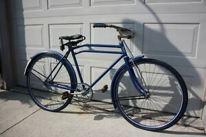 1937 CCM Perfect Motorbike Vintage Bicycle Complete!