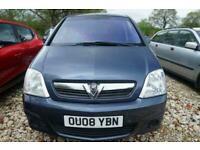 2008 Vauxhall Meriva BREEZE 16V MPV Petrol Manual