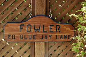 SIGNS WOOD ROUTED HAND CARVED CUSTOM St. John's Newfoundland image 9