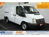 2012 62 FORD TRANSIT 2.2 300 LR * EX BT * WHITE PANEL VAN