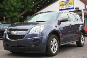2013 Chevrolet Equinox ONE OWNER and VERY LOW 67,000KM