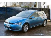 2013 VW GOLF MK7 1.6 TDI SE BLUEMOTION £0 TAX FVSH