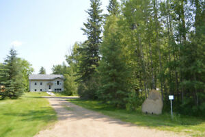 4bdrm home by North Buck lake w/ large shop for sale