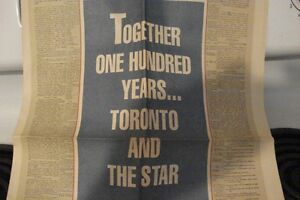 together one hundred years toronto