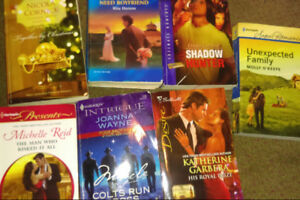 7 Harlequin Novels