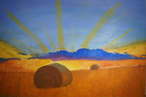 Original Landscape Painting by Airdrie Artist