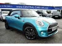 2016 MINI Convertible 1.5 Cooper 2dr CONVERTIBLE Petrol Manual
