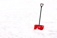 Snow shoveling in Chatham!