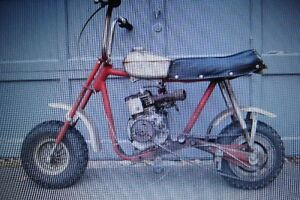 wanted older mini bike