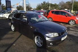 BMW 120 2.0 2005MY i SE leather int sat nav manual