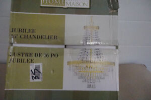 Chadelier still new in box, bought something else!