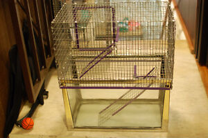 Multi-level Hamster or Gerbil cages