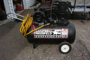4.5hp COMMERCIAL 20 GALLON COMPRESSOR
