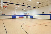 Looking to rent a basketball gym