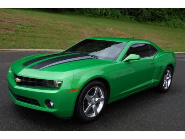 Imagen 1 de Chevrolet Camaro green