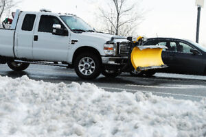 Snow Removal - Truck with Plow Available for Rent