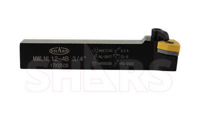 34 Mwlnl-12-3b Left Hand Indexable Turning Tool Holder Wnmg New