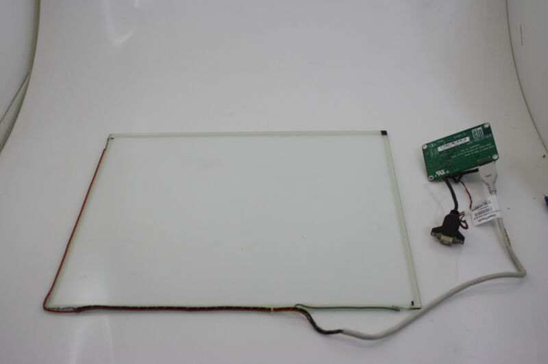 "ELO 17"" Touch Screan SCN-IT-FLT17 +USB Controller CTR-270100 Digitizer Glass"