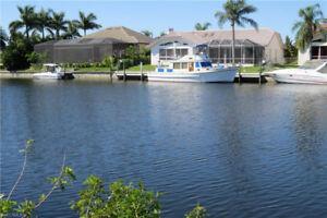 Direct Gulf Access Cape Coral Florida USA