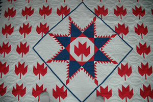 REDUCED: Montreal Canadiens Queen Size Quilt