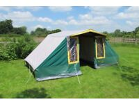 Suncamp ranch tent