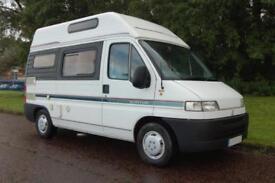 Swift Suntor 350 2 Berth Diesel Hi-Top Campervan with kitchen, washroom