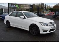 2012 62 MERCEDES-BENZ C CLASS 2.1 C220 CDI BLUEEFFICIENCY AMG SPORT 4D 168 BHP D
