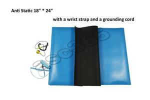 Anti Static Mat with a Wrist Strap and a Grounding Cord #020004