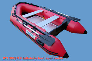 10 ft inflatable boat dinghy 4 Person aluminum flr Brand NEW