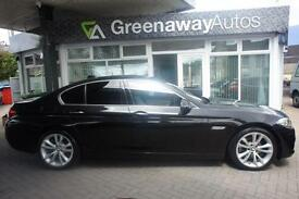 2014 BMW 5 SERIES 520D LUXURY LOW MILES £4800 WORTH OF OPTIONS SALOON DIESEL