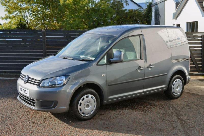eb10f2c564 2011 11 VOLKSWAGEN CADDY 1.6 C20 TDI 102 5D AC PEPPER GREY NO VAT DIESEL