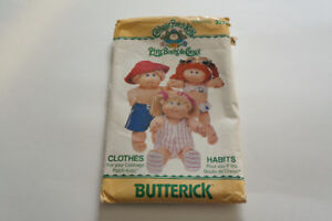 """""""Cabbage Patch Kids"""" doll Pattern 3270 Butterick bathing suit"""