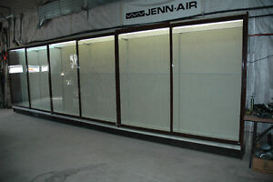 SLIDING DOOR CABINET GLASS SHELVING……REDUCED TO 1000 DOLLARS