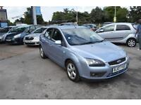 Ford Focus 1.6 ( 100ps ) auto 2007.5MY Zetec Climate SERVCE HISTORY
