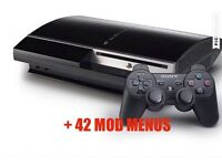 PS3 WITH 42 MOD MENUS SWAP FOR PS4