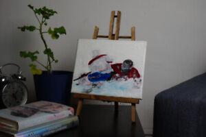 Peinture originale des Canadiens de Montréal