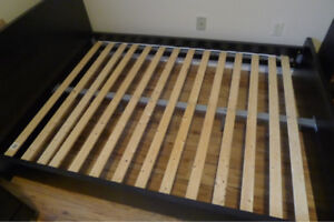 Euro styled double bed for sale very good condition.