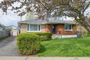 St. Catharines 4 Bedroom Bungalow