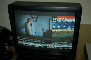 Moving Sale-JVC TV with TV Stand