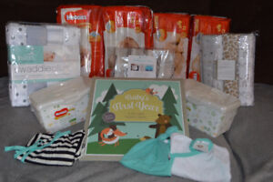 ALL BRAND NEW BABY ITEMS PACKAGE! Pampers and MORE!