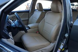 TOYOTA VENZA 2009-2015 IGGEE S.LEATHER CUSTOM FIT SEAT COVER 13 COLORS AVAILABLE