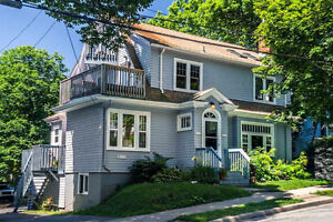 Sunny South End Halifax Large Flat (2 bdrm), surrounded by trees
