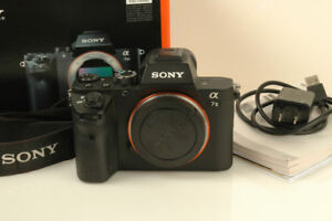 Sony Alpha a7 II  24.3MP (Body Only) has problems