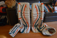 Vaughn custom goalie equipment - full set