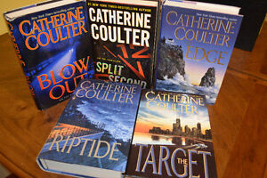 Catherine Coulter Hard cover books for sale