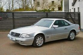 1998 Mercedes-Benz SL320 3.2 AUTO BRILLIANT SILVER AUTO FSH 2 KEYS LOW MILES 48K