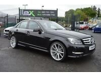 2012 12 MERCEDES-BENZ C CLASS 2.1 C220 CDI BLUEEFFICIENCY AMG SPORT PLUS 4D AUTO
