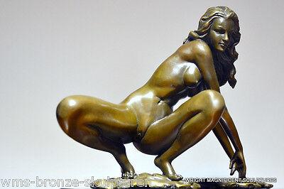 Bronze Akt signiert Bronzefiguren Bronzeskulpturen Bronze Figur Bronze Statue
