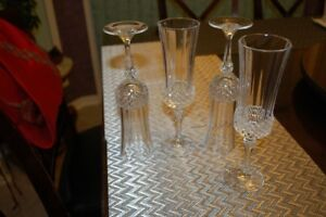 Crystal Champaign Flute glasses