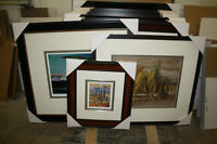 Wholesale Picture Framing Services + Group of Seven
